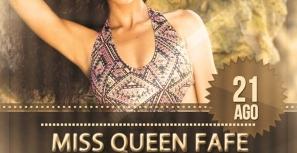 Desfile de moda para escolher MISS FAFE