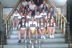 GNA-Futsal Feminino recebido no Salão Nobre