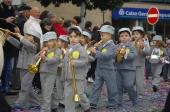 Crianças brincaram ao Carnaval na cidade
