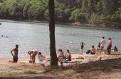 Barragem atrai banhistas e turistas