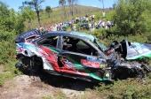 Acidente Rali Montelongo: piloto e navegador fora de perigo