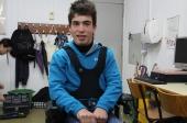 João Miguel recebeu hoje nova cadeira