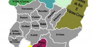 mapa do concelho de fafe Notícias de Fafe | Novo mapa do concelho aprovado pela Unidade Técnica mapa do concelho de fafe