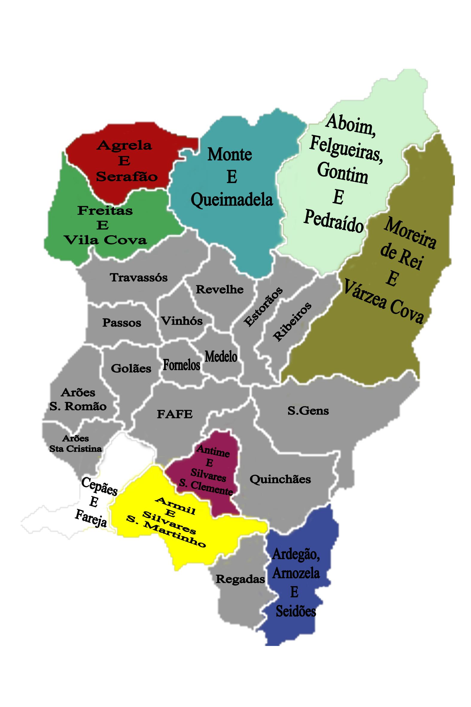 mapa do concelho de fafe Fafe Mapa | thujamassages mapa do concelho de fafe